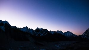 Sunrise from Kala Patthar