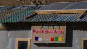 World's Highest Bakery