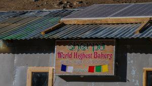 World's Highest Bakery