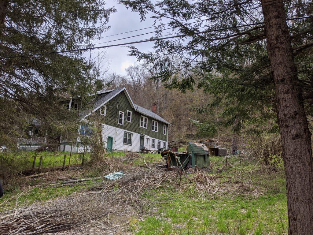 Upstate house and yard